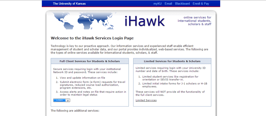 iHawk website